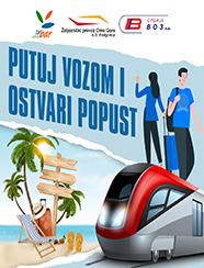 Kupi kartu i ostvari popust-vozom do Bara